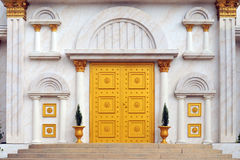 Golden Doors royalty free stock images