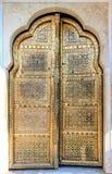 Golden Doors of Hawa Mahal in Jaipur, Rajasthan, India Stock Photos