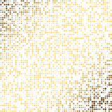 Golden dot abstract  background. EPS 10 Royalty Free Stock Photography
