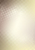 Golden dots poster background Stock Photography