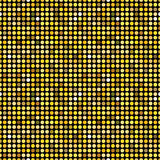 Golden dots seamless pattern stock images