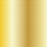 Golden dotted background Stock Image
