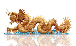 Free Golden Dragon Royalty Free Stock Photography - 25346947
