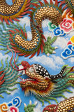 The golden dragon Royalty Free Stock Photos