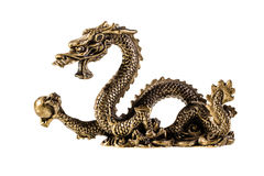 Golden Dragon Stock Images