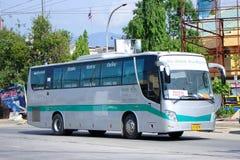 Golden dragon Bus of Green bus Company Royalty Free Stock Photos