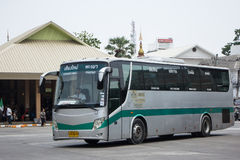 Golden Dragon Bus of Greenbus Company. Route  Between Chiangmai. CHIANG MAI, THAILAND -MAY 1 2017:  Golden Dragon Bus of Greenbus Company. Route  Between Stock Images