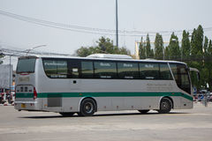 Golden Dragon Bus of Greenbus Company. Route Between Chiangmai. CHIANG MAI, THAILAND -MAY 1 2017:  Golden Dragon Bus of Greenbus Company. Route Between Chiangmai Stock Images