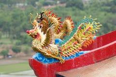 Golden Dragon Stock Photography