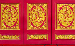 Golden Dragon door Royalty Free Stock Image