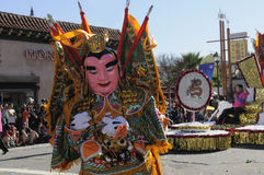 Golden Dragon Parade Royalty Free Stock Photography