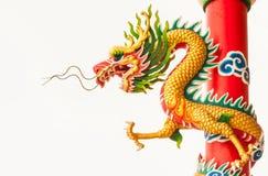 Golden dragon Royalty Free Stock Image
