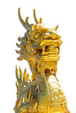 Golden dragon Royalty Free Stock Photo