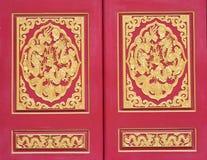 Golden dragon texture Stock Photo