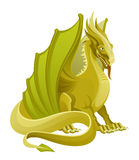 Golden dragon Stock Photography