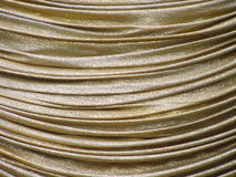Golden drapieren Sie lizenzfreies stockfoto
