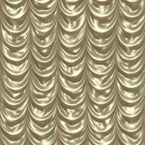 Golden draps medium Stock Image
