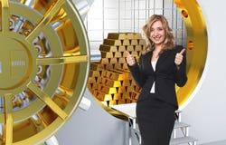 Golden dream Stock Images