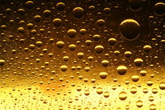 Golden Drops Royalty Free Stock Image