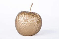 Golden dry apple Stock Photo