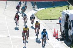 Golden Dunes 2012 bicycle race, Klaipeda Royalty Free Stock Image