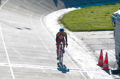 Golden Dunes 2012 bicycle race, Klaipeda Royalty Free Stock Images