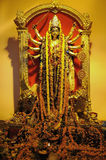Golden Durga goddess Stock Images