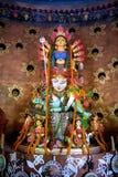 Golden Durga Pooja Mahotsav , Kolkata, West Bengal Royalty Free Stock Photos