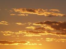 Golden dusk Royalty Free Stock Image