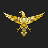 Golden Eagle - emblem Royalty Free Stock Photography