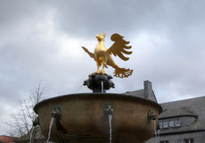 Golden Eagle of Goslar Stock Photo
