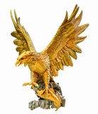 Golden Eagle Statue Stock Photography