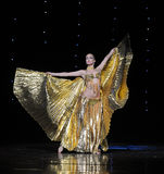Golden Eagle-Turkey belly dance-the Austria's world Dance Stock Photography