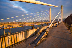 Golden Ears Bridge Royalty Free Stock Photography