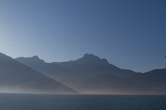 Golden Ears Peaks Royalty Free Stock Photography