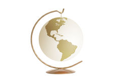 Golden Earth Royalty Free Stock Images