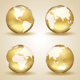 Golden Earth Stock Images