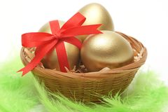 Golden Easter Royalty Free Stock Image