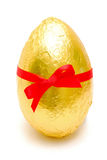 Golden easter egg Stock Photos