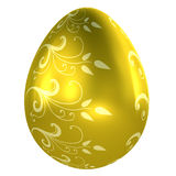 Golden Easter Egg Royalty Free Stock Images
