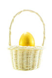 Golden easter egg Stock Images