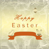 Golden Easter egg Royalty Free Stock Photos