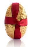 Golden easter egg Stock Images