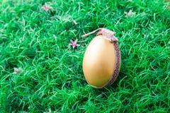 Golden easter egg Royalty Free Stock Photo