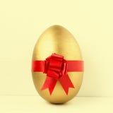 Golden Easter egg Stock Photos