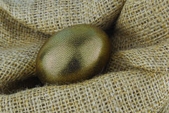 Golden egg Royalty Free Stock Image
