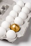 Golden egg. Concept of Making Money Stock Photos