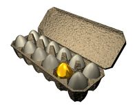 Golden_egg Stock Image