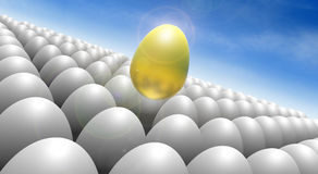 Golden Egg Royalty Free Stock Photo