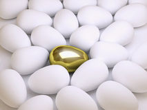 Golden egg Royalty Free Stock Image